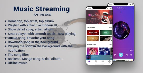 Music Streaming IOS Version