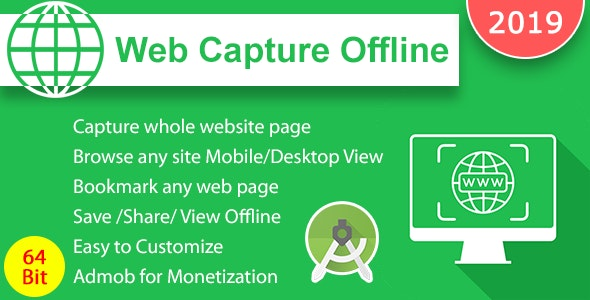 Web Capture Offline - CodeCanyon Item for Sale