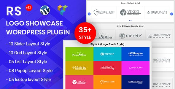 RS Logo Showcase - Logo Showcase WordPress Plugin