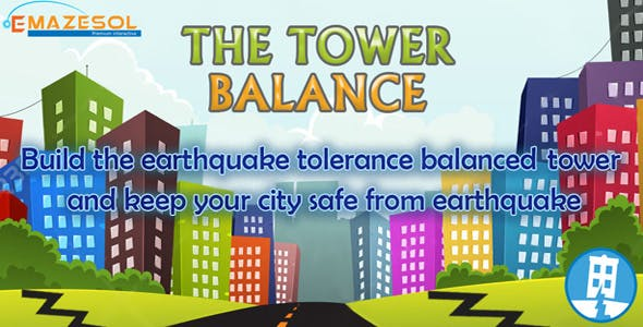 The Tower Balance Unity 3D One Touch Complete Game Source Code