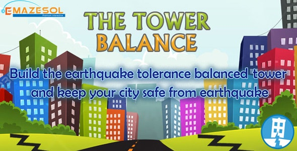 The Tower Balance Unity 3D One Touch Complete Game Source Code - CodeCanyon Item for Sale