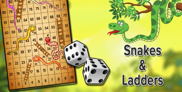 Snakes & Ladders - Board Game - CodeCanyon Item for Sale