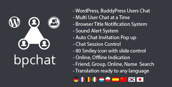 WordPress, BuddyPress Users Chat Plugin - CodeCanyon Item for Sale