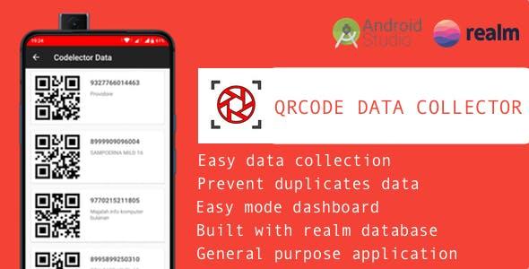 Codelector - A QRCode data collector