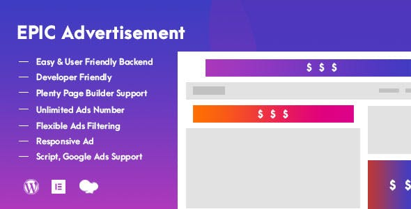 Epic Advertisement WordPress Plugin & Add Ons for Elementor & WPBakery Page Builder