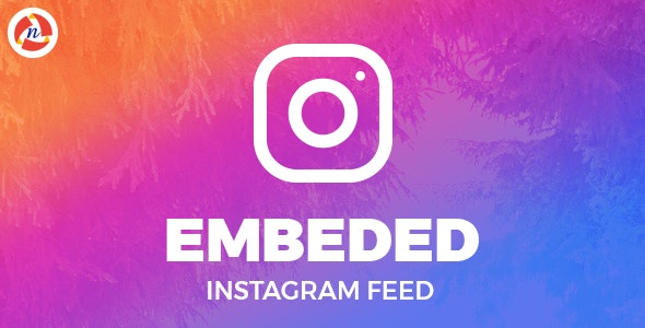 Embeded Instagram Feed - CodeCanyon Item for Sale