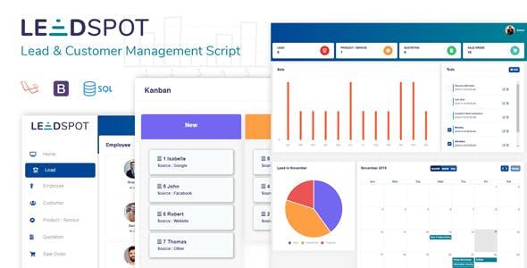 Lead Spot: Lead & Customer Management Script