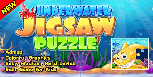 Best Ocean Jigsaw Puzzle + Ready For Publish In Android - CodeCanyon Item for Sale