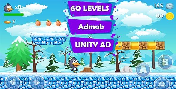 Penguin Run Adventure - Unity Game Source Code