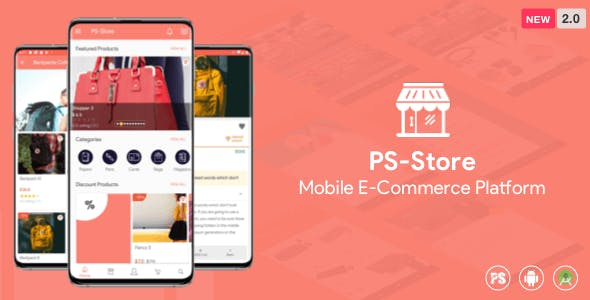 PS Store ( Mobile eCommerce App for Every Business Owner ) 2.0