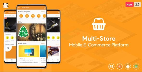 Multi-Store ( Mobile eCommerce Android App, Mobile Store App ) 2.3 - CodeCanyon Item for Sale