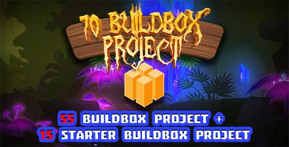 Hobiron Buildbox Bundle ( 55 Buildbox Project + 15 Buildbox Starter Project + Android Project )