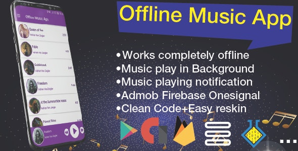 Offline Music App – Mp3 Soundboard - CodeCanyon Item for Sale