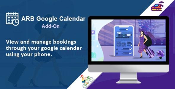 ARB Google Calendar (Add-On) - CodeCanyon Item for Sale