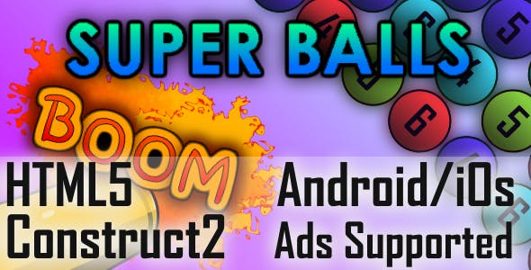 SuperBalls HTML5 Android/iOs (CAPX)