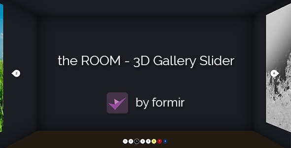 The Room - Pure CSS 3D Slider - CodeCanyon Item for Sale
