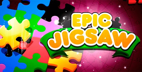 Jigsaw Puzzle with Admob + IAP (Android + iOS)