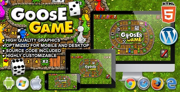 Goose Game - HTML5 Board Game