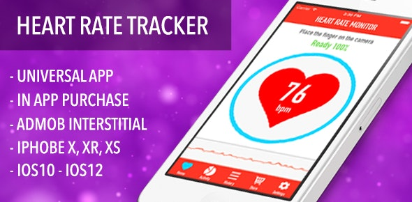 Heart Rate Tracker - Health & Fitness Full App - CodeCanyon Item for Sale