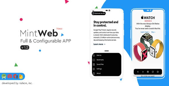 Mint - Full & Configurable Android WebView App