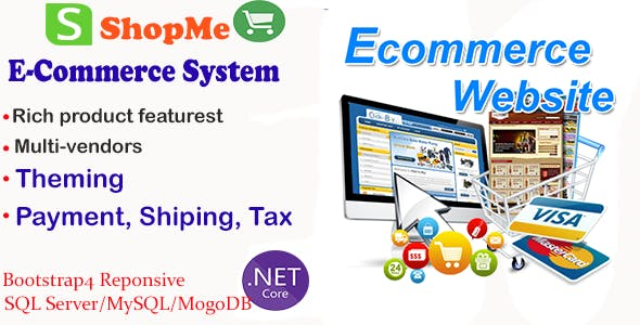 ShopMe - .Net Core Angular Ecommerce System V.1.2