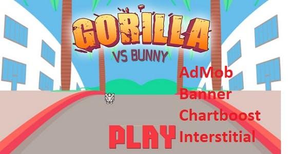 Gorilla Vs Bunny - Full Buildbox Game
