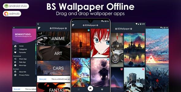 BS Wallpaper Offline - Image & GIF Support