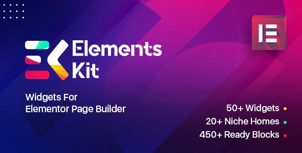 ElementsKit Widgets - Addon for elementor page builder