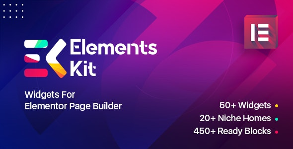 Elements Kit Widgets - Addon for elementor page builder by Wpmet |  CodeCanyon