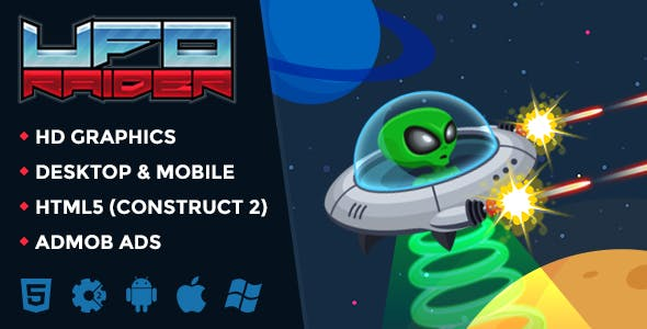 UFO RAIDER - Infinite Space Shooter