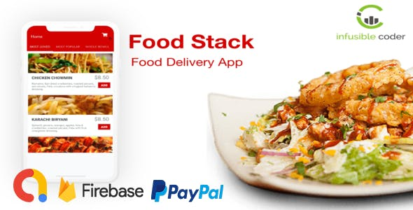Food Stacks (Food Order & Delivery Service with PayPal)