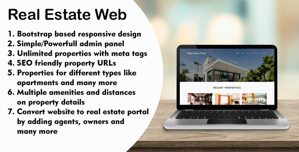 Real Estate Web - with Agency Portal and Multi-Language Management System - CodeCanyon Item for Sale