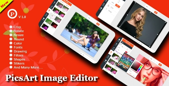 PicsArt Image Editor - CodeCanyon Item for Sale