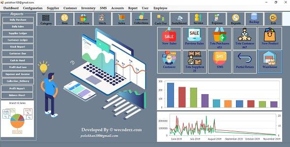 Super Shop Retail Sale POS Software With GST