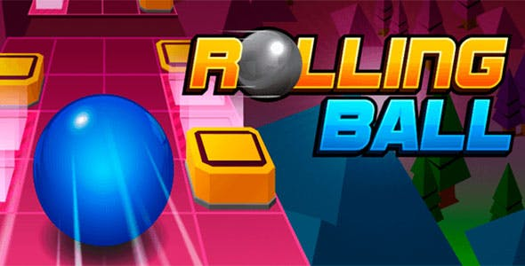 Rolling Sky with Admob + IAP (Android + iOS)
