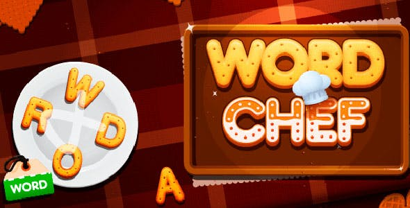 Word Chef with Admob + IAP (Android + iOS)