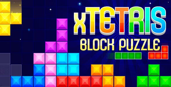 Tetris Block Puzzle with Admob + IAP (Android + iOS)