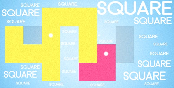 Square - HTML5 Game + Mobile Version! (Construct 3 / Construct 2 / CAPX)