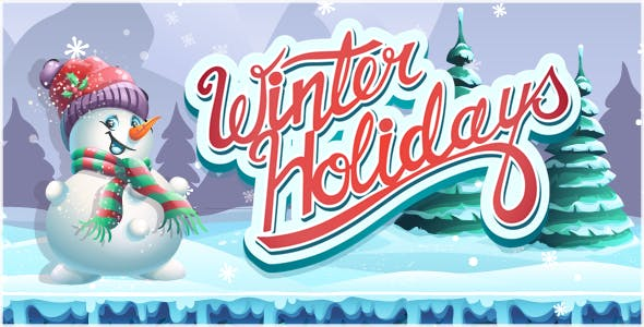 Winter Holidays - HTML5 Game + Mobile Version! (Construct 3 / Construct 2 / CAPX)