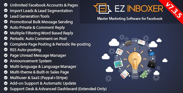 EZ Inboxer - Master Marketing Software for Facebook