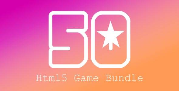 (50) Games Sale | Html5 Game Bundle | Construct 2