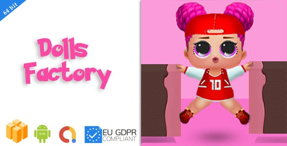 Dolls factory : Android Game + Buildbox proect