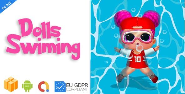 Dolls Swiming