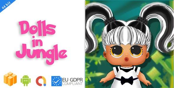 Dolls in jungle