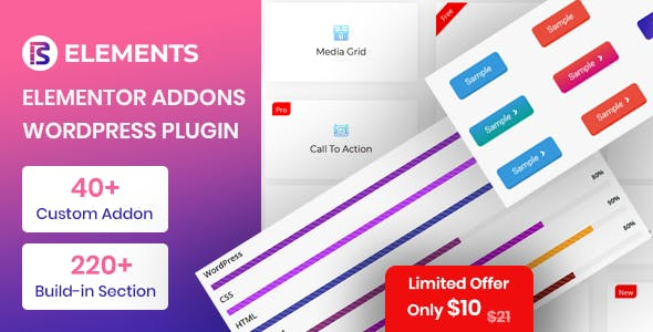 RS Elements - Addon For Elementor Page Builder WordPress Plugin