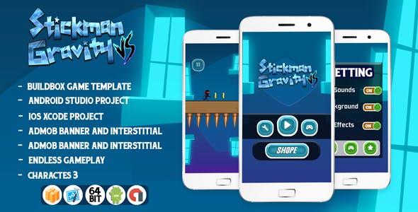 Stickman vs Gravity - ios xcode + Admob