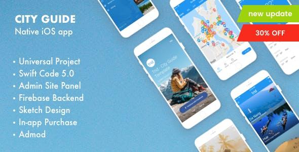 Golo - City Guide iOS Native with Admin Panel, Firebase