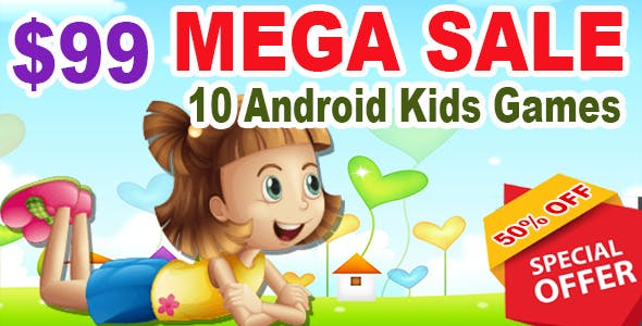 Best 10 Kids Mega Sale - Ready For Publish - Android