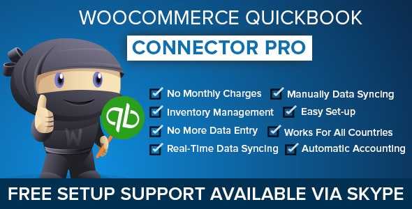 WooCommerce QuickBooks Connector Pro - CodeCanyon Item for Sale