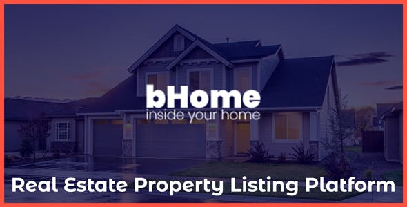 bHome - Real Estate Property Listing Platform